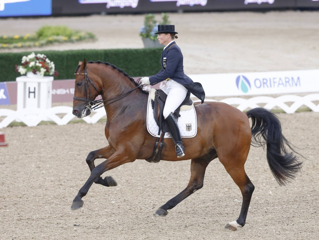 Isabell Werth  et  Don Johnson  - Dressage
