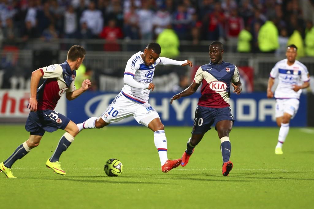 Alexandre Lacazette (Lyon) vs Ludovic SANE (Bordeaux)