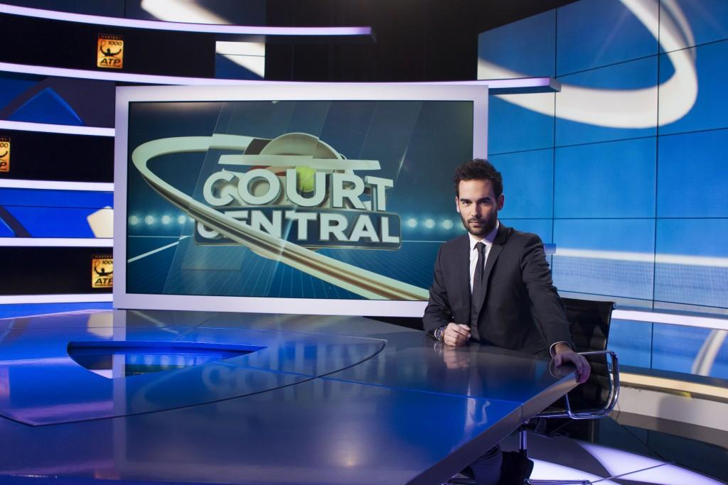 TENNIS : Emission Court Central - Bein Sport - 23/03/2014