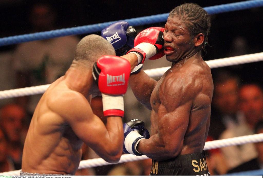 BOXE : Hassan N Dam N Jikam (FRA) vs Giovanni Lorenzo (DOM) - championnat du monde WBA interim des poids moyen - 02/04/2011