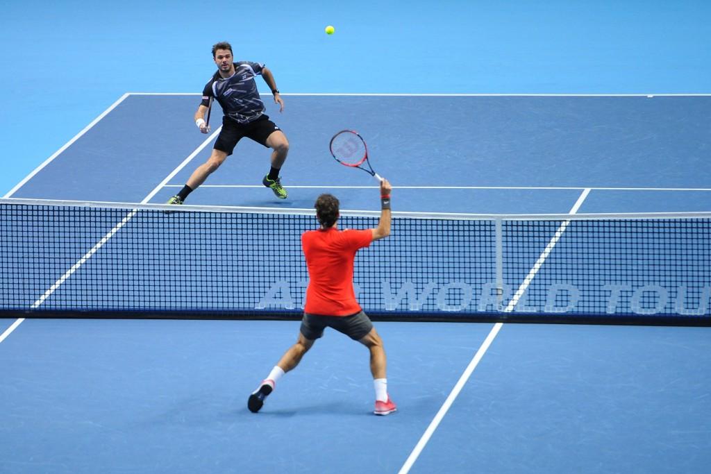 Roger Federer (Sui) vs Stanislas Wawrinka (Sui)