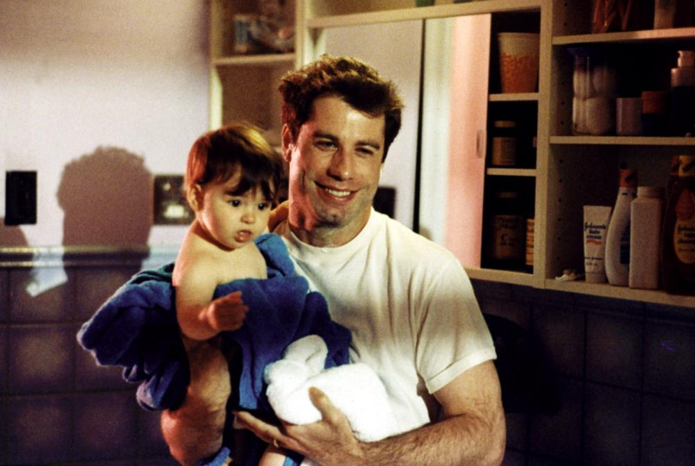 LOOK WHO'S TALKING TOO, John Travolta, 1990
