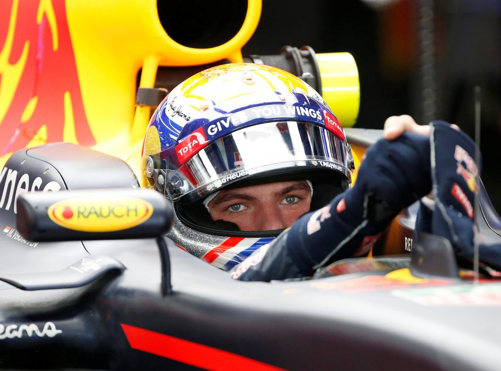 Formula One - Japanese Grand Prix - Suzuka Circuit, Japan - 8/10/16.Red Bull's driver Max Verstappen of the Netherlands sits in his car during the third practice session. REUTERS/Toru Hanai  Picture Supplied by Action Images