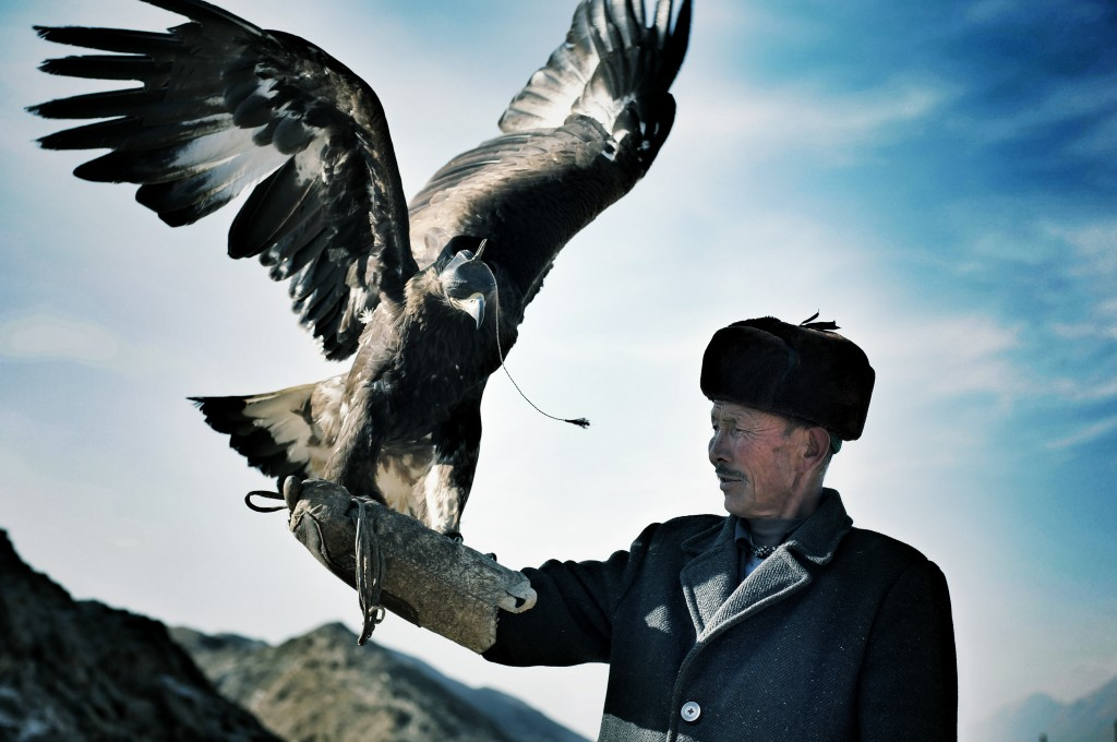 Macan and eagle.