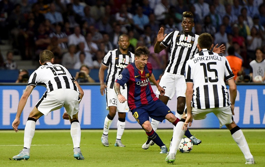 Football - FC Barcelona v Juventus - UEFA Champions League Final - Olympiastadion, Berlin, Germany - 6/6/15 Barcelona's Lionel Messi in action