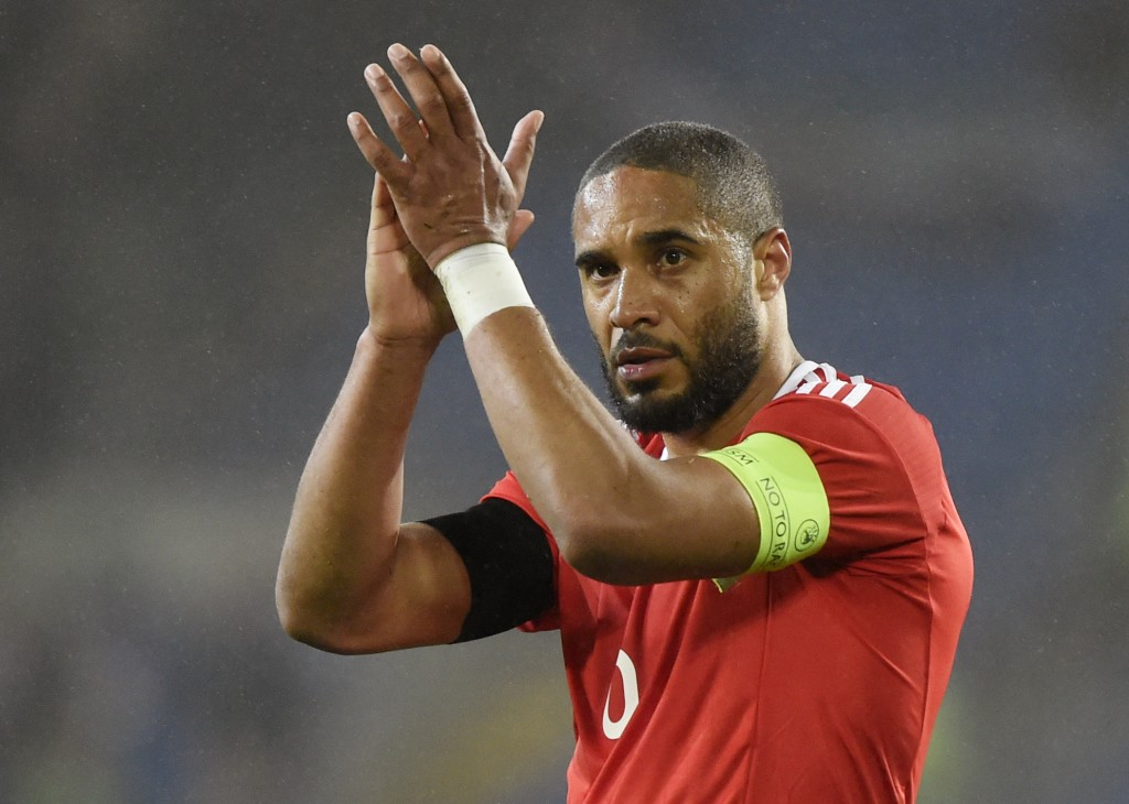 Football Soccer - Wales v Northern Ireland - International Friendly - Cardiff City Stadium - 24/3/16 Wales' Ashley Williams applauds fans after the game Reuters / Rebecca Naden Livepic EDITORIAL USE ONLY.