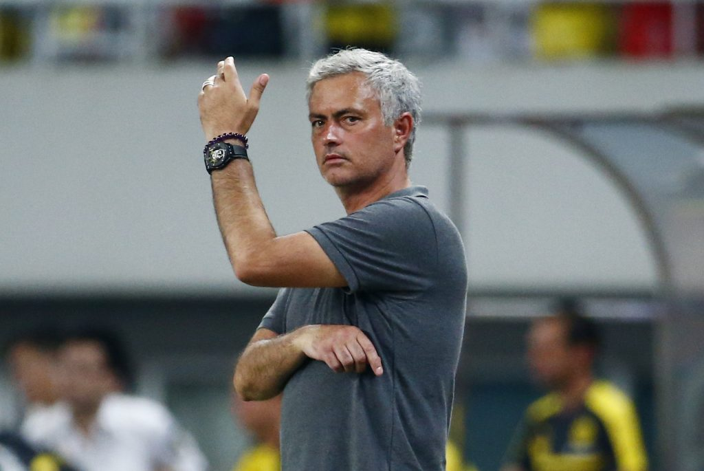 Football Soccer - Borussia Dortmund v Manchester United - International Champions Cup - Shanghai Stadium, Shanghai, China - 16/17 - 22/7/16 Manchester United manager Jose Mourinho Action Images via Reuters / Thomas Peter
