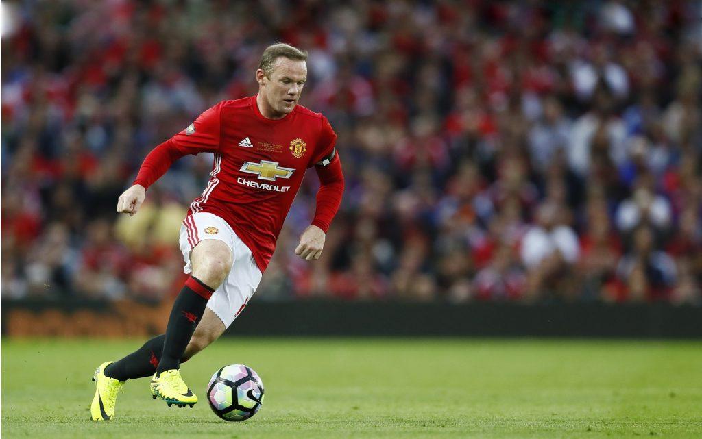 Football Soccer Britain - Manchester United v Everton - Wayne Rooney Testimonial - Old Trafford - 3/8/16 Manchester United's Wayne Rooney in action Action Images via Reuters / Jason Cairnduff Livepic EDITORIAL USE ONLY.