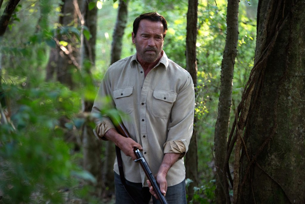 """Arnold Schwarzenegger in """"Maggie."""" (Roadside Attractions)  ** OUTS - ELSENT, FPG, TCN - OUTS **"""
