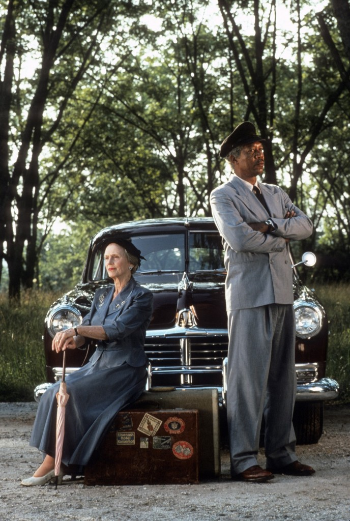 "The Academy of Motion Picture Arts and Sciences' ""Monday Nights with Oscar®"" will close the year with a screening of ""Driving Miss Daisy"" (1989), on Monday, December 13, at 7 p.m. at the Academy Theater at Lighthouse International in New York City.  Pictured: Jessica Tandy and Morgan Freeman as they appear in DRIVING MISS DAISY, 1989."