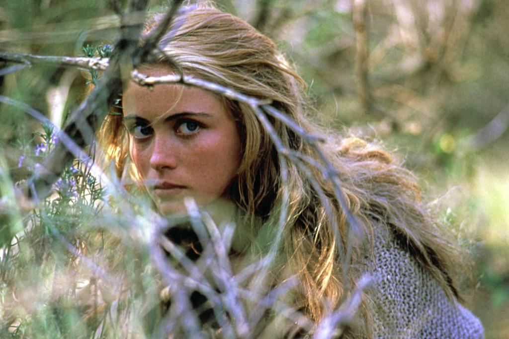 Emmanuelle BŽart dans Manon des sources. Un film de Claude Berri. FRA - 1986